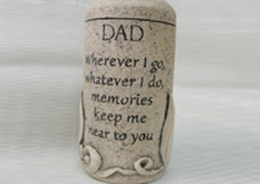 Dad Cultured Stone Keepsake