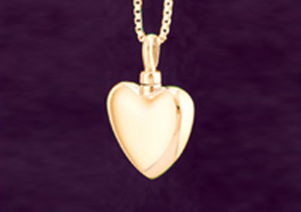 Heart - Large - Gold Vermeil #106GV