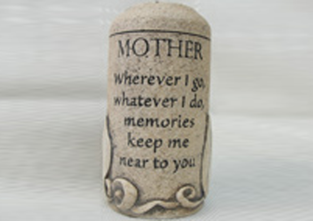 Mother Cultured Stone Keepsake